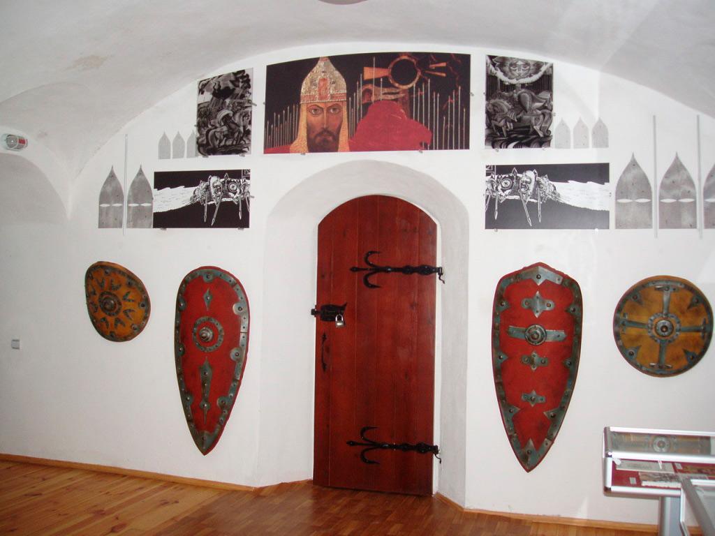 У залі музею-заповідника